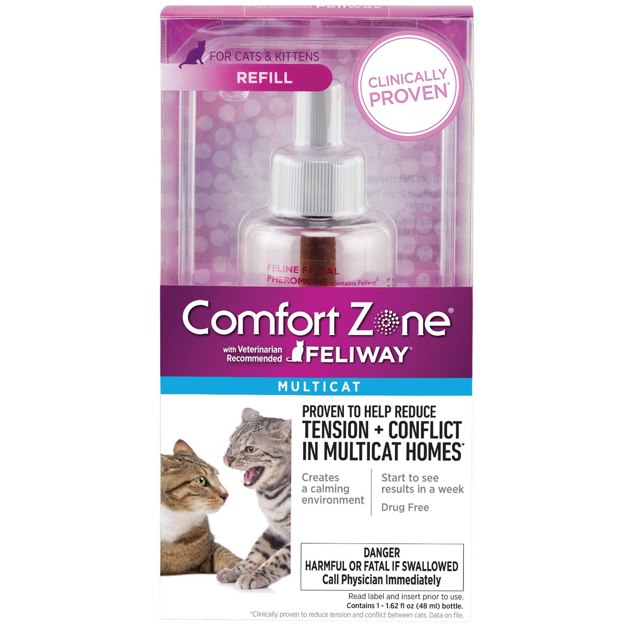Comfort Zone Mulitcat Refill with Feliway