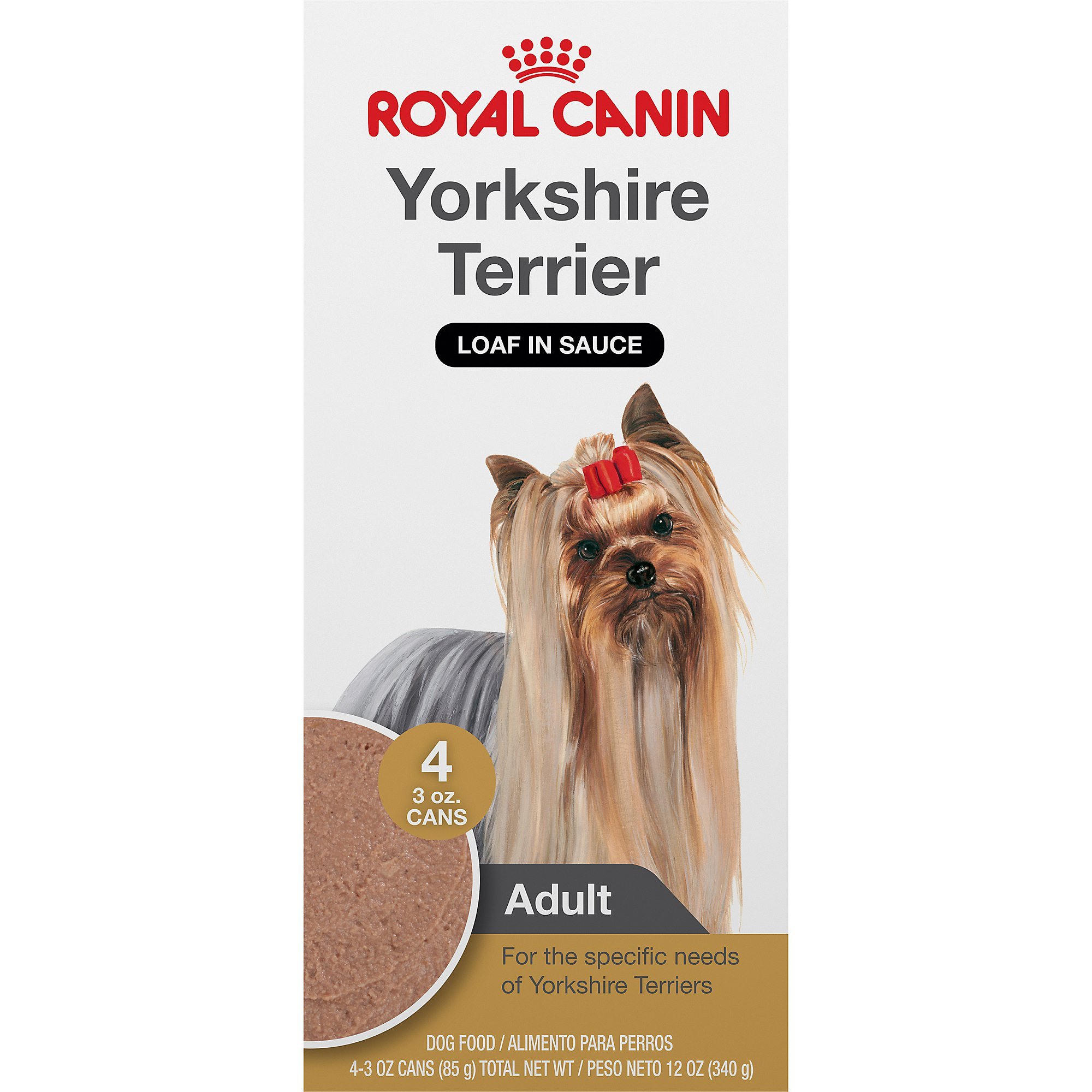 royal canin canine health nutrition yorkshire terrier canned dog food petco. Black Bedroom Furniture Sets. Home Design Ideas