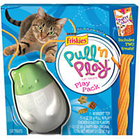 Friskies Pull N Play Cat Toy & Treat Dispenser