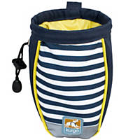 Kurgo Navy Stripe Treat Bag