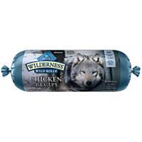 Blue Buffalo Wilderness Wild Roll Chicken Recipe Dog Food