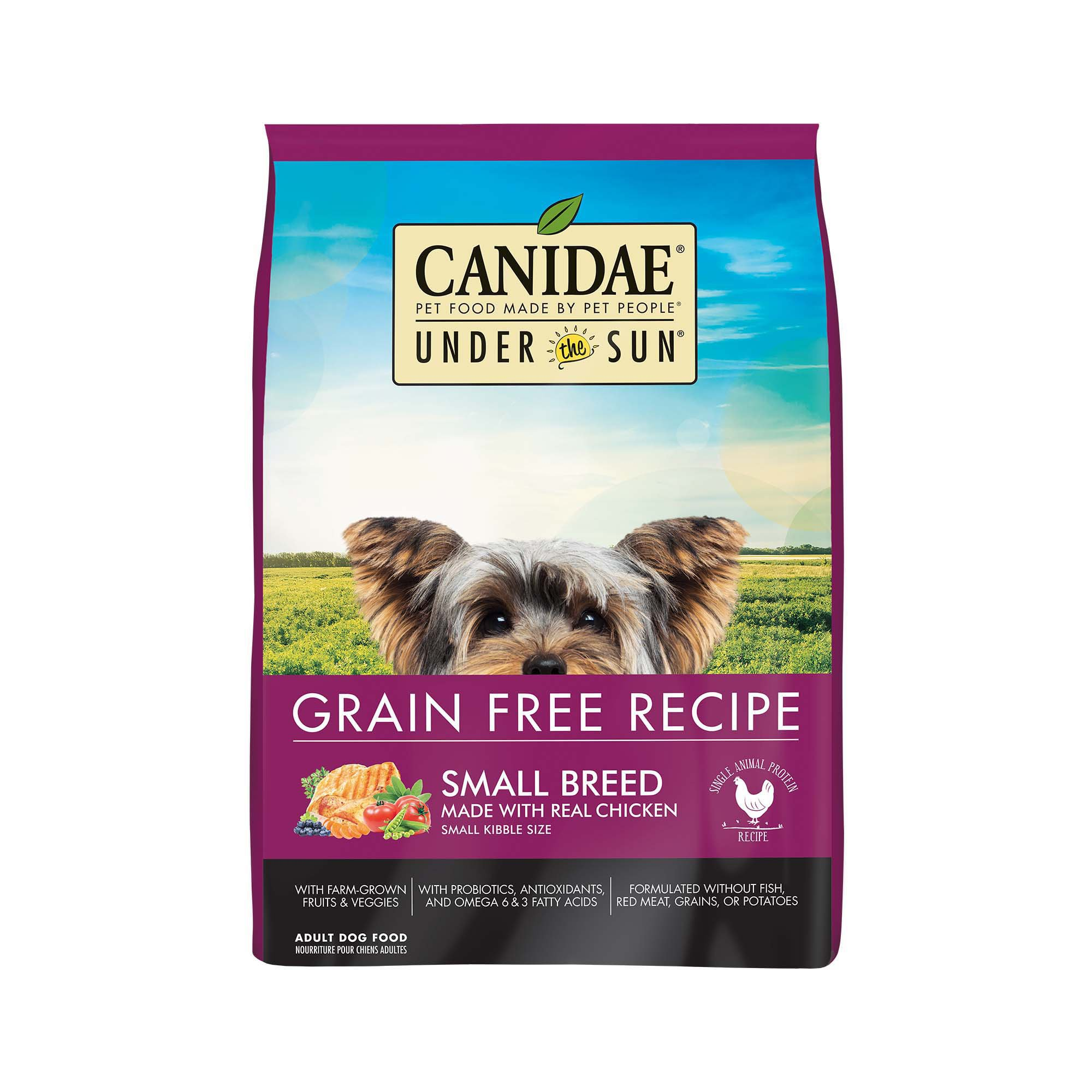 Under The Sun Small Breed Grain Free Chicken Adult Dog Food