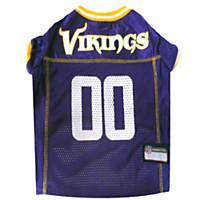 Pets First Minnesota Vikings NFL Mesh Pet Jersey