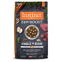 Nature's Variety Instinct Raw Boost Grain-Free Duck Dog Food