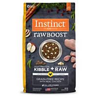 Nature's Variety Instinct Raw Boost Grain-Free Chicken Meal Dog Food