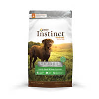 Nature's Variety Instinct Grain-Free Limited Ingredient Diet Lamb Meal & Peas Dog Food