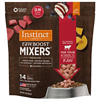 Nature's Variety Instinct Raw Boost Frozen Mixers Beef Dog Food