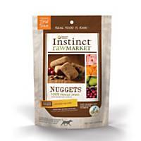 Nature's Variety Instinct Raw Market Nuggets Chicken Freeze Dried Dog Food