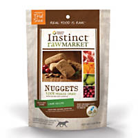 Nature's Variety Instinct Raw Market Nuggets Lamb Freeze Dried Dog Food