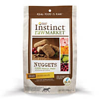 Nature's Variety Instinct Raw Market Nuggets Chicken Freeze Dried Dog Food