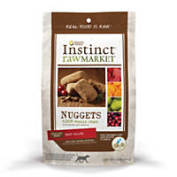Nature's Variety Instinct Raw Market Nuggets Beef Freeze Dried Dog Food