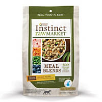 Nature's Variety Instinct Raw Market Blends Chicken Freeze Dried Dog Food