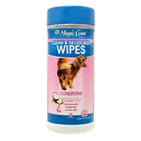 Magic Coat Coconut Oil Clean & Deodorize Wipes