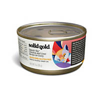 Solid Gold Dawn's Sky Holistic Grain Free Wet Cat Food, Chicken and Liver Recipe in Gravy