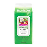 TropiClean Deep Cleaning Dog Wipes