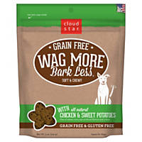 Cloud Star Wag More Bark Less Soft & Chewy Grain Free Chicken & Sweet Potatoes Dog Treats