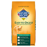 Nature's Recipe Easy to Digest Fish Meal & Potato Dry Dog Food