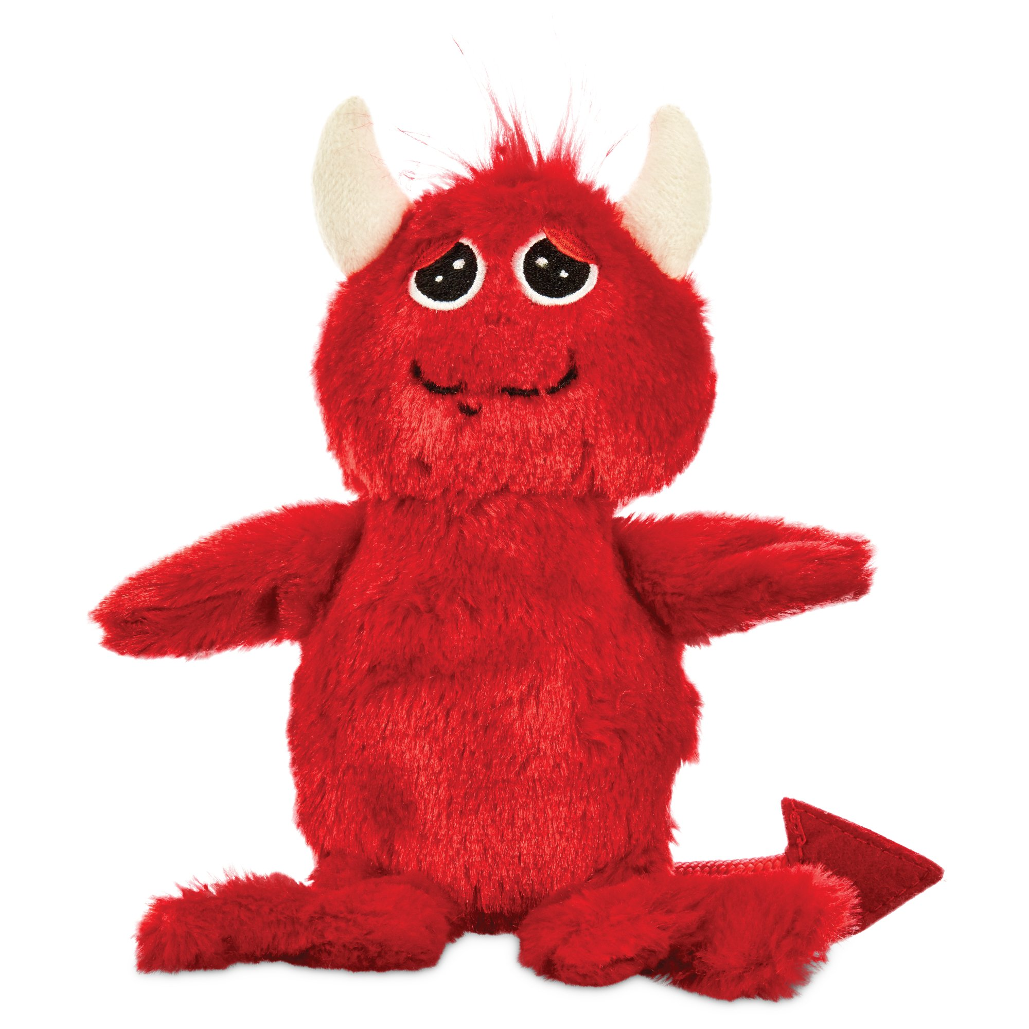 Halloween Bootique Red Devil Plush Dog Toy, 9""