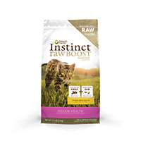 Nature's Variety Instinct Raw Boost Chicken Meal Formula Kibble Indoor Cat Food