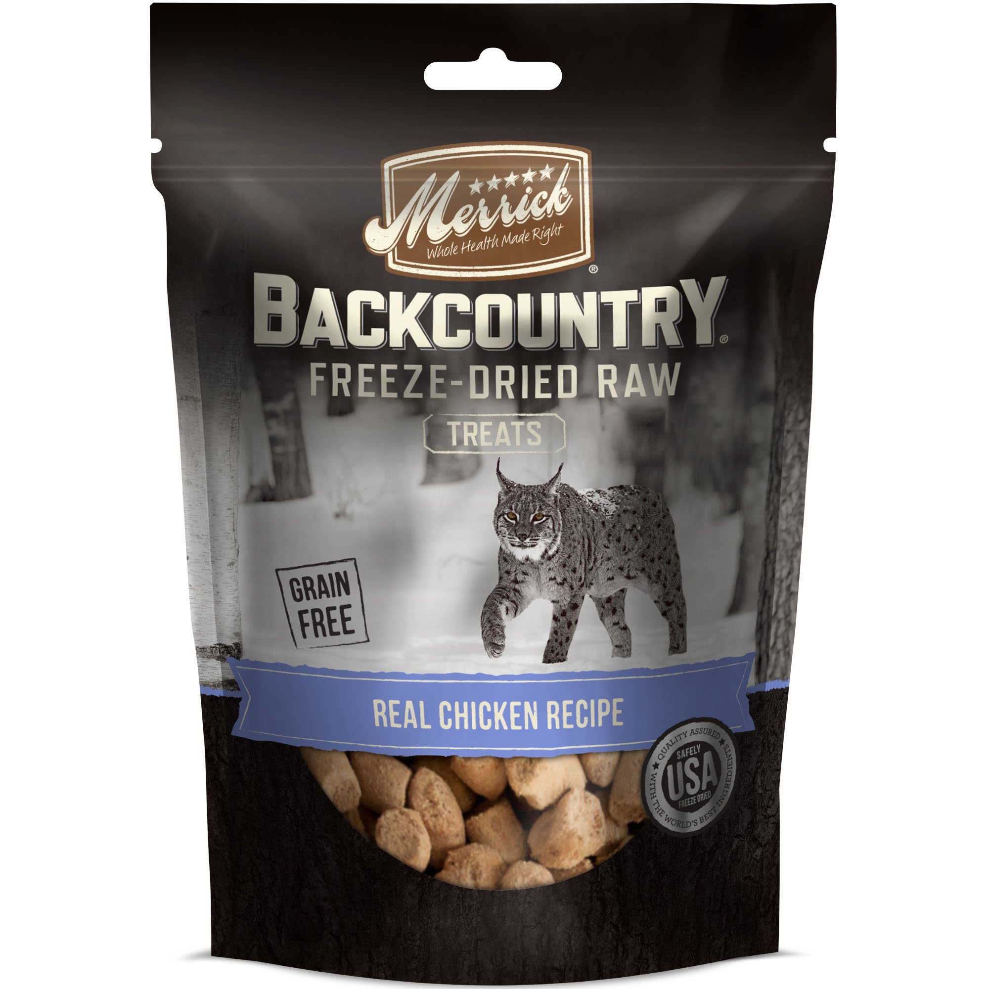 Merrick Backcountry Real Chicken Recipe Freeze-Dried Cat Treats