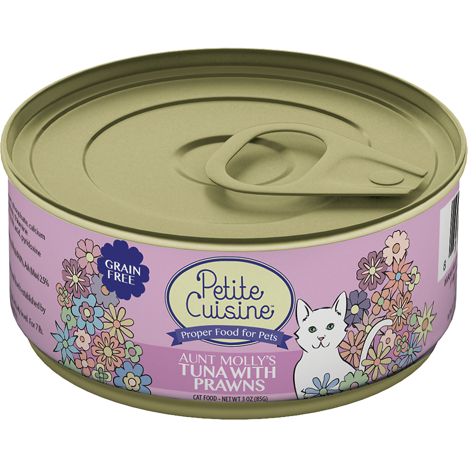 Petite Cuisine Aunt Mollys Tuna With Prawns Gourmet Canned Cat Food