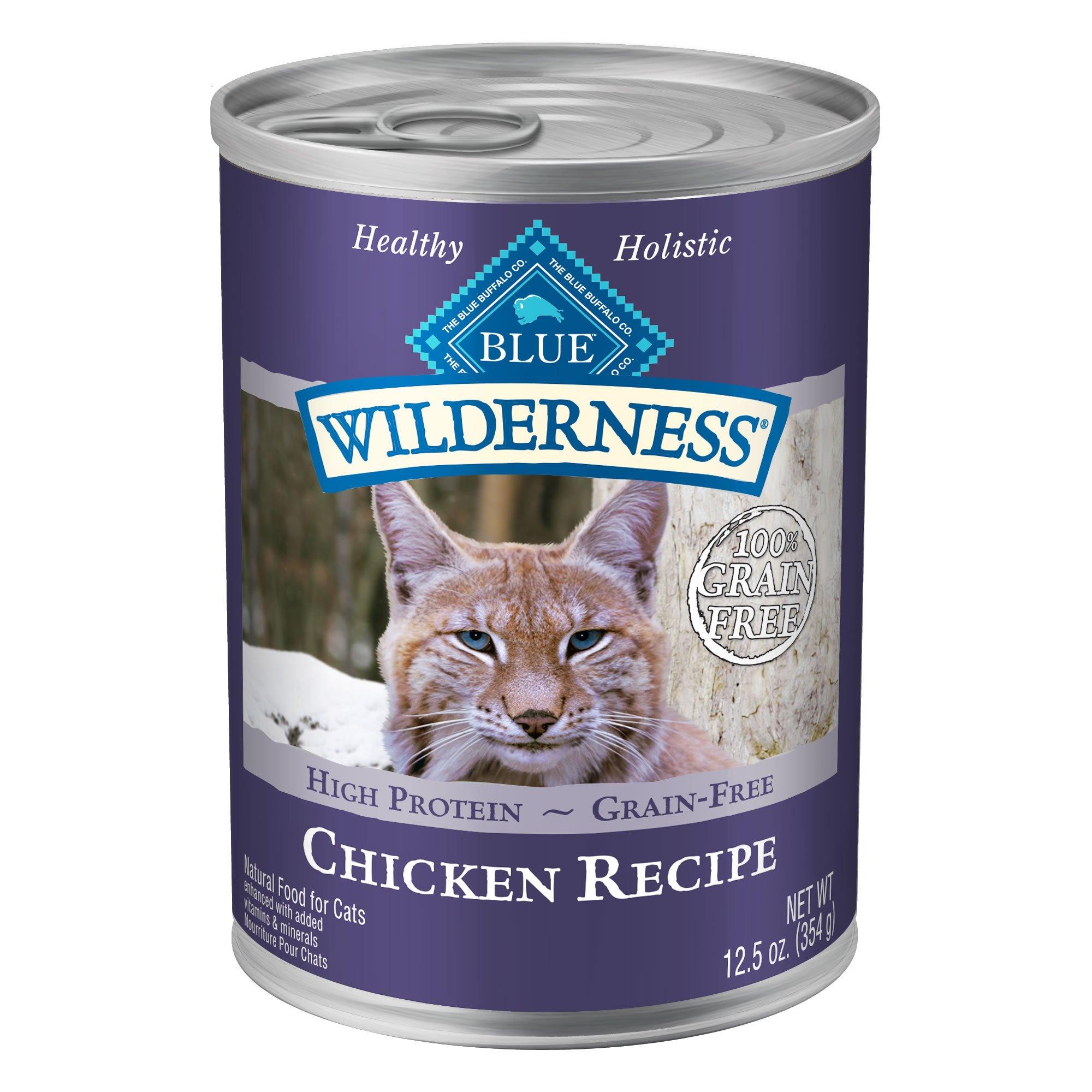 Blue Buffalo Wilderness Canned Chicken Cat Food