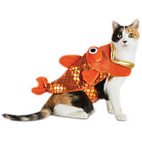 Halloween Bootique Fish Bait Cat Costume