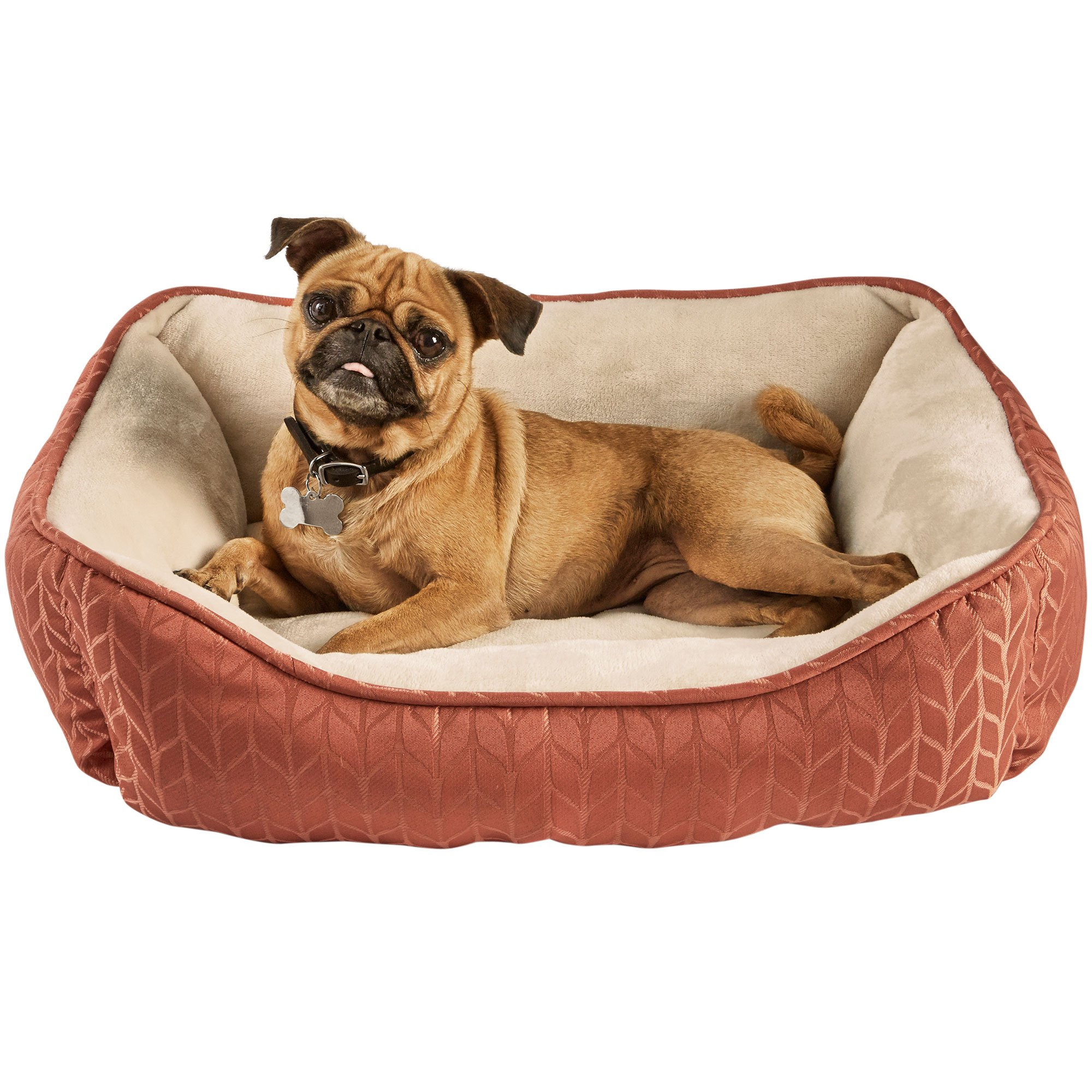 Harmony Terracotta Nester Dog Bed