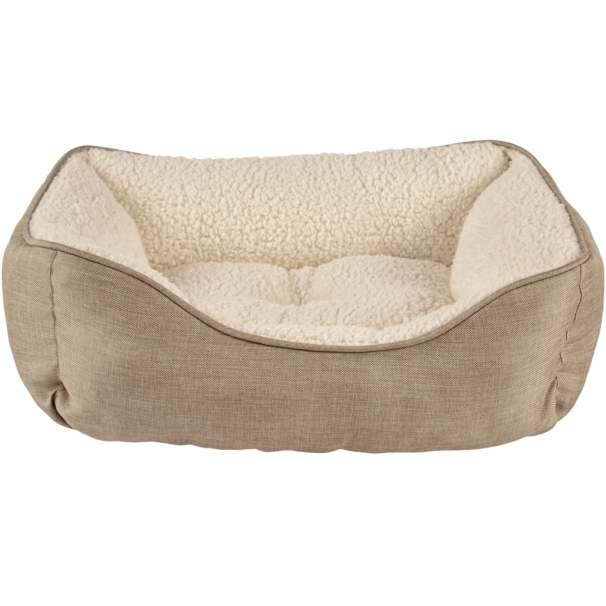 Harmony Khaki Nester Dog Bed