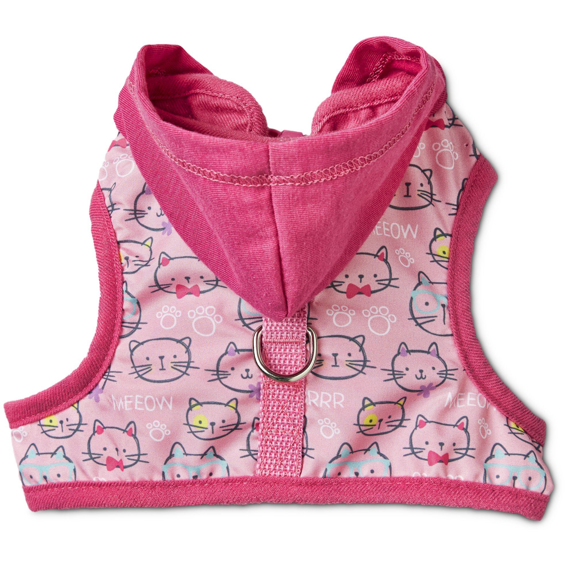 Bond & Co Kitty-Print Hooded Cat Harness