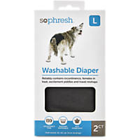 So Phresh Washable Diaper for Dogs 2pk