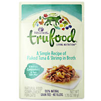 Wellness TruFood Complements Natural Wet Cat Food Flaked Tuna & Shrimp in Broth