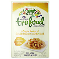 Wellness TruFood Complements Natural Wet Cat Food Shredded Chicken Breast in Broth