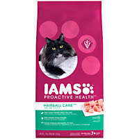 Iams ProActive Health Hairball Care Mature Adult Cat Food