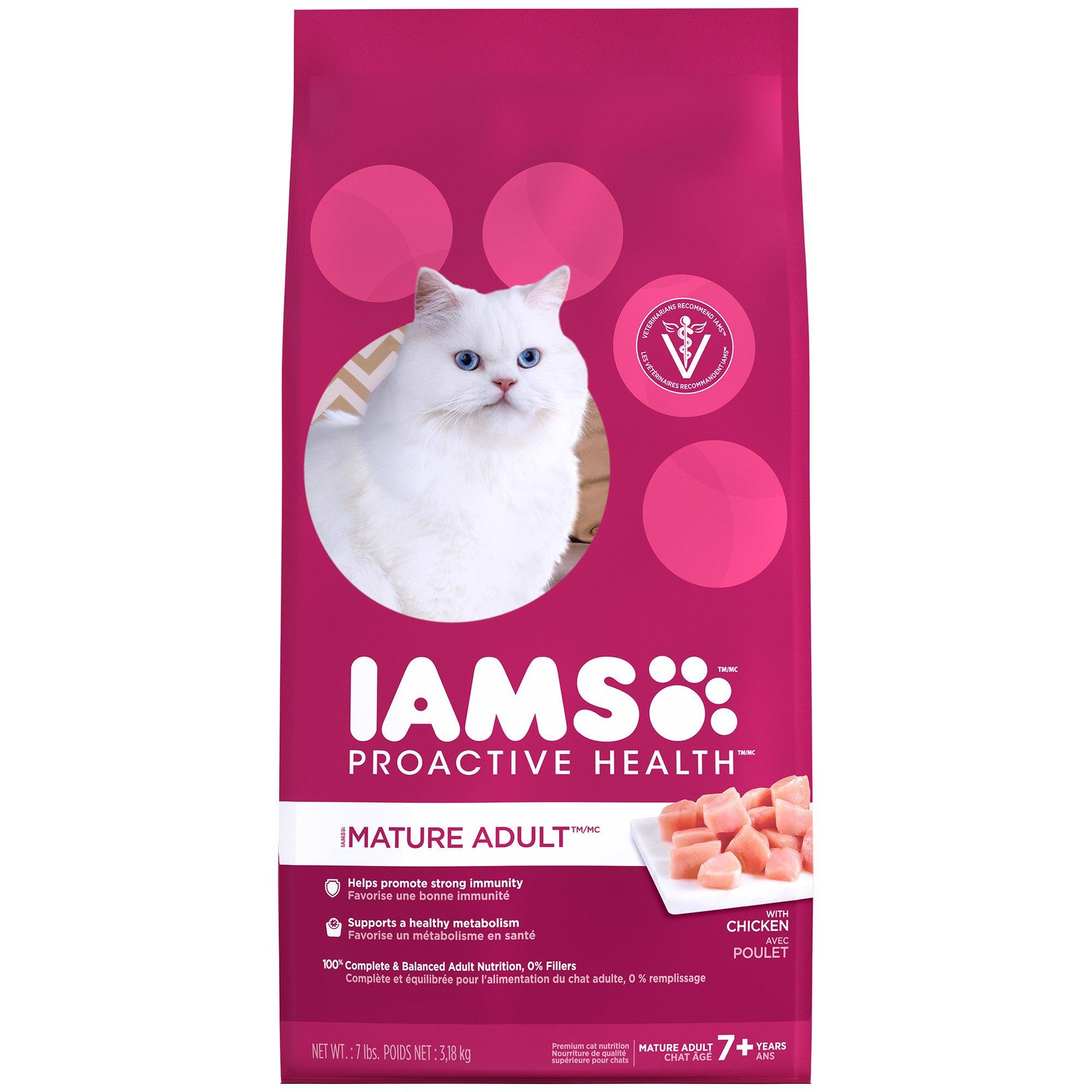 Cool Iams Proactive Health Mature Adult Senior Cat Food Petco Store Short Hairstyles For Black Women Fulllsitofus