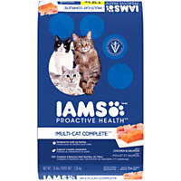 Iams ProActive Health Multi-Cat Chicken & Salmon Adult Cat Food