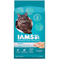 Iams ProActive Health Indoor Weight & Hairball Care Adult Cat Food