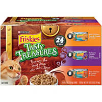 Friskies Tasty Treasures Variety Pack Canned Cat Food