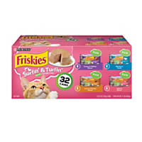 Friskies Classic Pate Surfin' & Turfin' Favorites Variety Pack Canned Cat Food