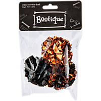 Halloween Bootique Crazy Crinkle Ball Cat Toys, Pack of 3