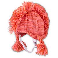 Good2Go Pink Mohawk Dog Hat