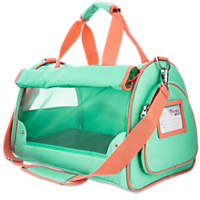 Good2Go Ultimate Pet Carrier in Aqua and Pink