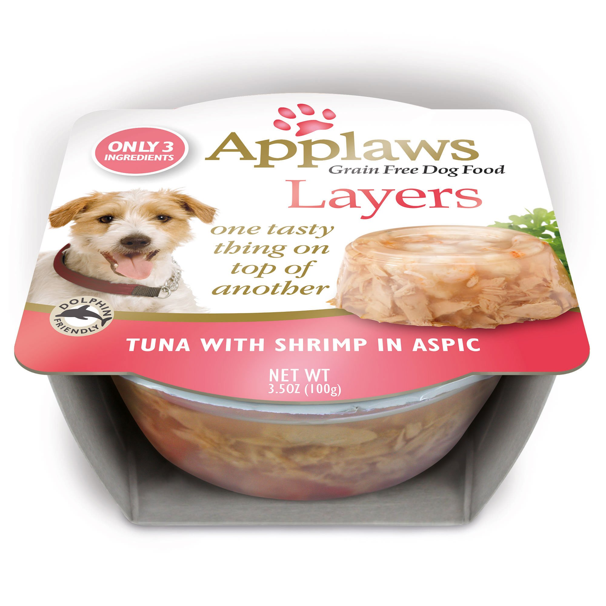 Applaws Limited Ingredient Layer Tuna with Shrimp in Aspic Natural Dog Food