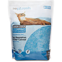 So Phresh Scoopable Odor-Lock Clumping Micro Crystal Cat Litter in Blue Silica