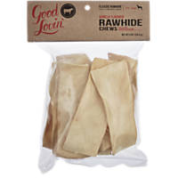 Good Lovin' Vanilla Flavor Rawhide Strips Dog Chews