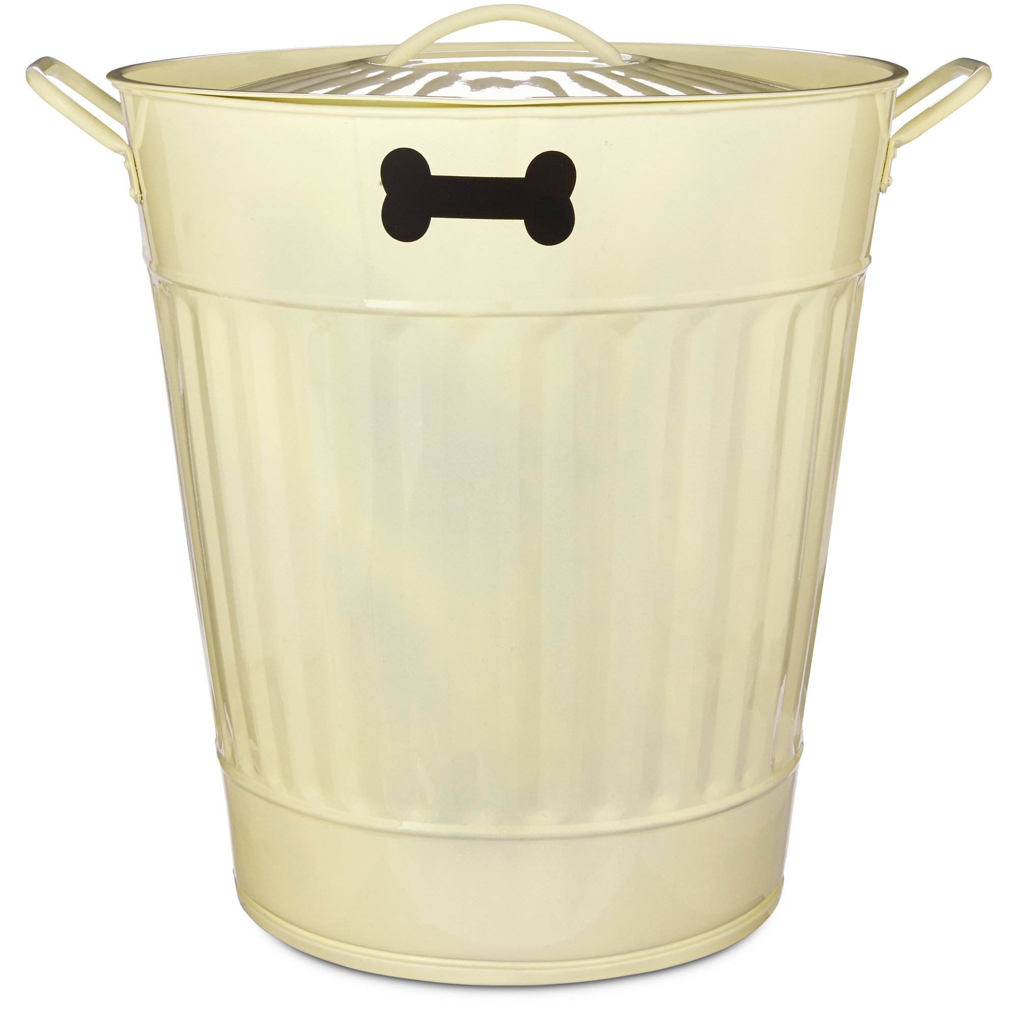 You & Me Pet Food Storage Bin in Cream