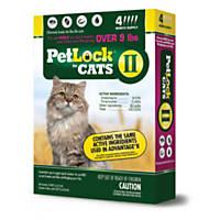 PetLock II Flea Treatment for Cats, 4 Month Supply