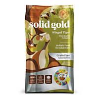 Solid Gold Winged Tiger Quail & Pumpkin Adult Dry Cat Food