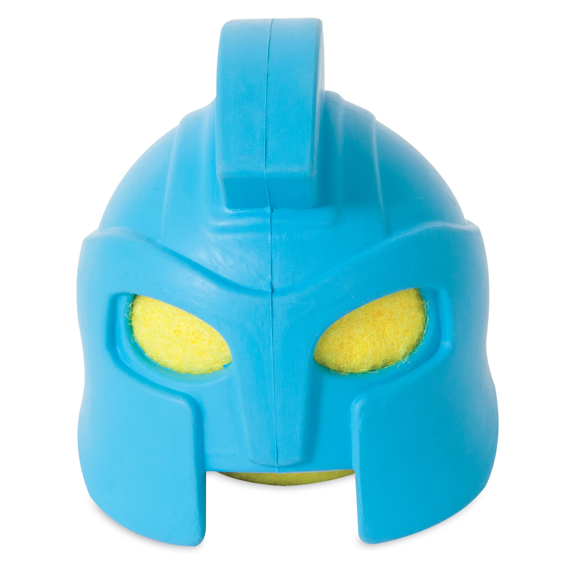 JW Pet Gladiator Helmet Head Dog Toy