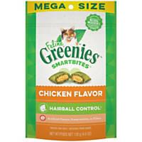 Feline Greenies Smartbites Chicken Flavored Hairball Control Cat Treats